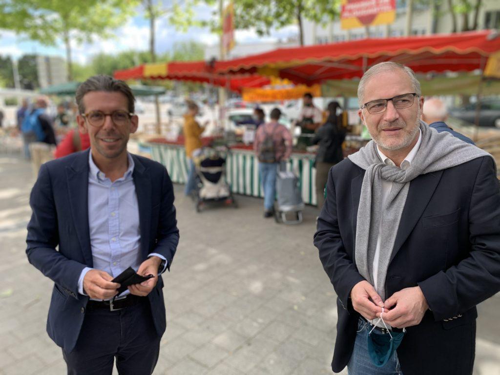 Ronan LOAS, maire de Ploemeur et  vice-président du conseil départemental du Morbihan